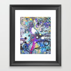 Flying Eagle Framed Art Print