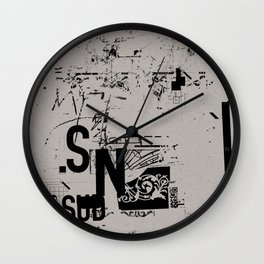spotless 2 Wall Clock