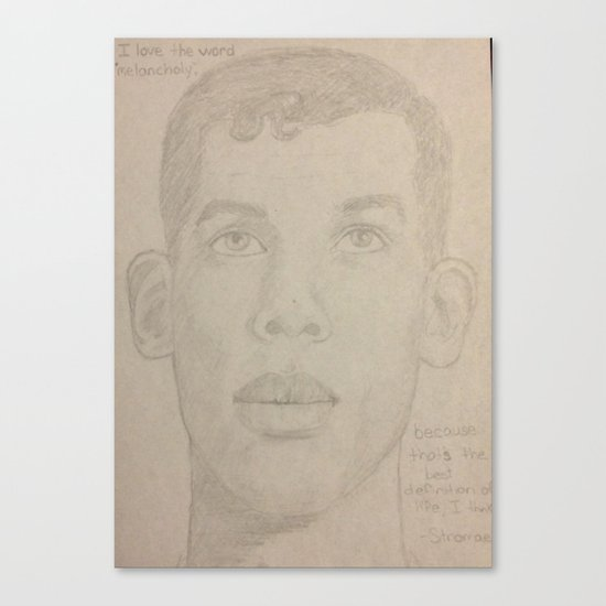 Stromae Canvas Print