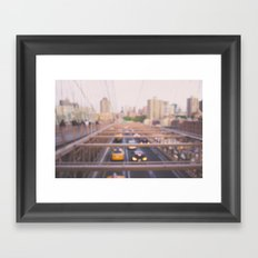 Brooklyn Bound Framed Art Print