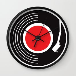 Groovy Record Wall Clock