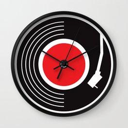 Groovy Record Wall Clock
