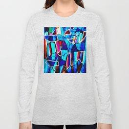 Blue Love Long Sleeve T-shirt
