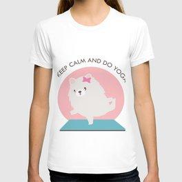 Kawaii Yoga Dog Pose T-shirt