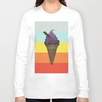 icecream Long Sleeve T-shirts featuring Icecream by Zayth