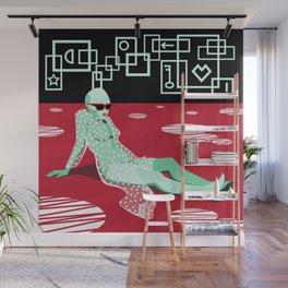 Here (I) Wall Mural