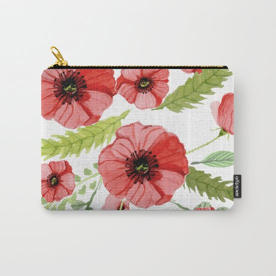 Flowers 110 Carry-All Pouch