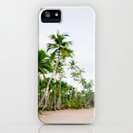 Paradise found | Coastal beach fine art photography print | The Dominican Republic iPhone Case