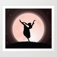 Moon Dancer Art Print