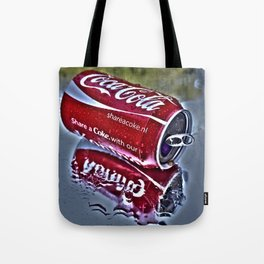 Chilly cola in the hot summer day  Tote Bag