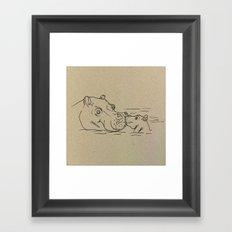 NB nr2 Framed Art Print