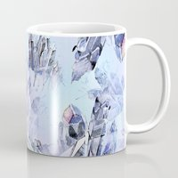 crystal Mugs featuring Crystal by Lin.E