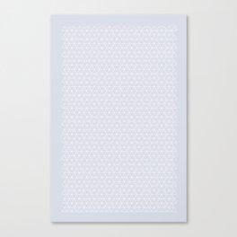 Tessellation - Sparkle - Purple Canvas Print