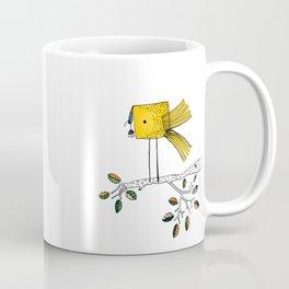 Nosy Bird Coffee Mug