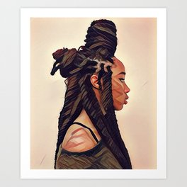Portrait of An Empress #1 - Limited Edition Art Print