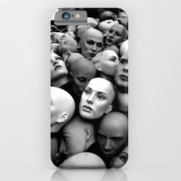 Head's Up iPhone Case