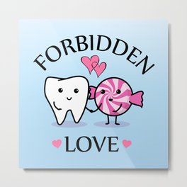 Forbidden Love Metal Print
