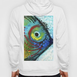 Tropical Fish - Colorful Beach Art By Sharon Cummings Hoody
