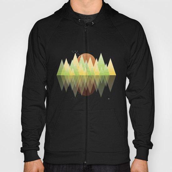 Summer Geometric Mountain Hoody