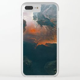 Managing the crops and corpses Clear iPhone Case