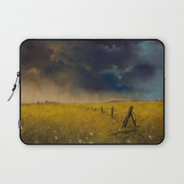 Rolling Thunder Pastel Art Print Laptop Sleeve