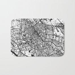 Tianjin Map Gray Bath Mat