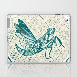 Insect's badge. Mantis. Laptop & iPad Skin