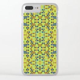 Geometric Seamless Pattern Clear iPhone Case