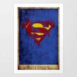 Super Logo Art Print