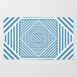 Blue & White Secret Passage Rug