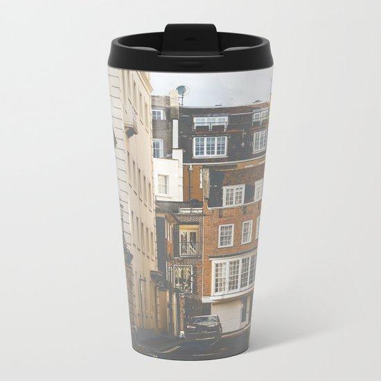 Vintage London Metal Travel Mug