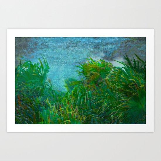 Tropical Windstorm Art Print