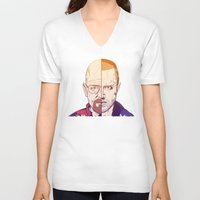 breaking bad V-neck T-shirts featuring Breaking Bad by Connick Illustrations