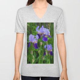 Iris Parade Unisex V-Neck