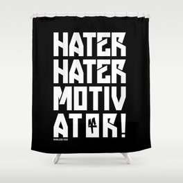Hater Shower Curtain