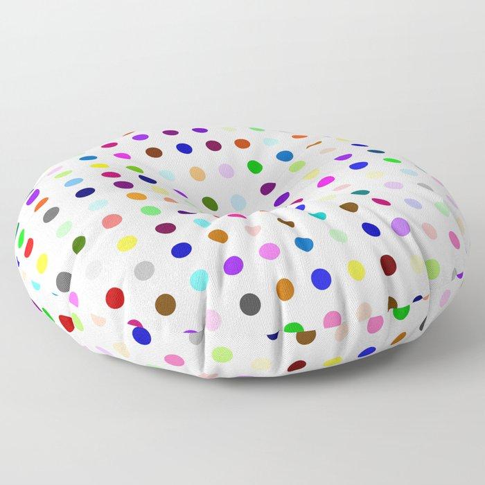 Big Hirst Polka Dot Floor Pillow