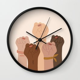 The Revolutionists Wall Clock