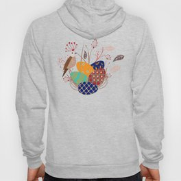 Nest of Pysanky Easter Eggs Nightingales and Swallows Hoody