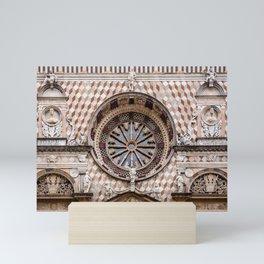 citta alta, bergamo, lombardy, italy | the basilica of santa maria maggiore  Mini Art Print