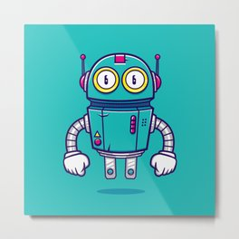 Bloop Jr Metal Print