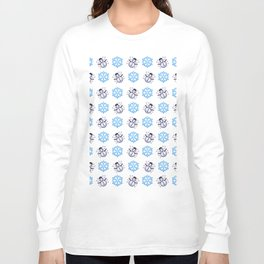 C1.3D Snowmoji Long Sleeve T-shirt