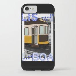 LISBON FERRY iPhone Case
