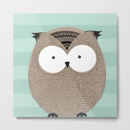 Owlsome, sweet collection Metal Print