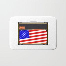 USA Rock Amplifier Bath Mat