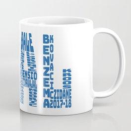 Real Madrid 2017-2018 Coffee Mug