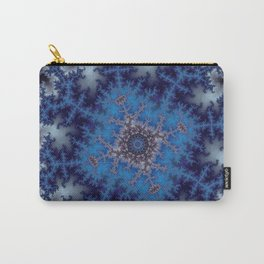 Fractal Square Carry-All Pouch