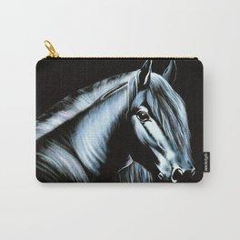black velvet horse Carry-All Pouch