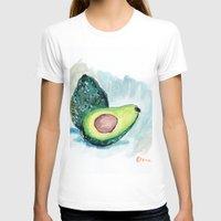 avocado T-shirts featuring Avocado by Elena Sandovici