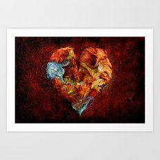 Liebesphasen ! Art Print