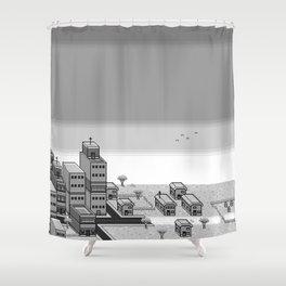 Hero - Sprite Art Shower Curtain